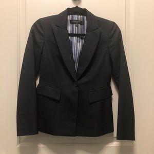 NWOT Nine West Charcoal Gray Blazer 0P